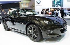 Mazda MX-5 bil på expo för Thailand Internationalmotor Royaltyfri Fotografi