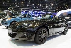 Mazda MX-5 bil på expo för Thailand Internationalmotor Royaltyfri Bild