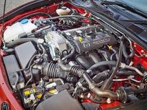 Mazda MX-5 2015 Engine Royalty Free Stock Photography