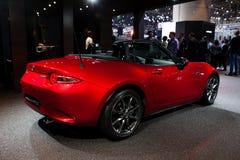 Mazda MX-5 in Geneva Royalty Free Stock Images