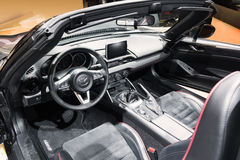 Mazda MX-5 interior Royalty Free Stock Image