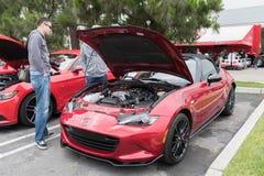 Mazda mx-5 Miata op vertoning Stock Foto