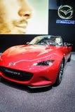 Mazda MX-5, Motorowy przedstawienie Geneve 2015 Fotografia Royalty Free