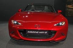 Mazda MX5 on Paris Motor Show Imagen de archivo