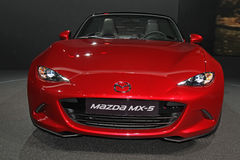 Mazda MX5 on Paris Motor Show Stock Image