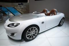Mazda MX-5 pojęcia samochód Obrazy Royalty Free