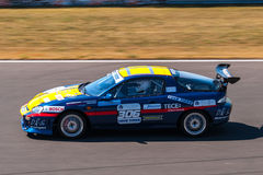 Mazda MX3 race car. Photographed during Histocup event at Slovakia Ring on August 3, 2013 Stock Images