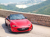 Mazda MX-5 2015 Test Drive Day Royalty Free Stock Images