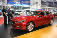 Mazda no Car Show de Belgrado Foto de Stock Royalty Free