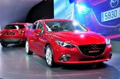 Mazda 3 op IAA 2013 Stock Foto's