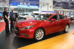 Mazda på den Belgrade Car Show Royaltyfri Foto