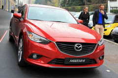 Mazda 6 Royalty Free Stock Photo
