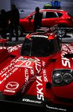 Mazda prototype race car Royalty Free Stock Images