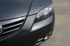 Mazda przeglądu przednia Zdjęcie Stock