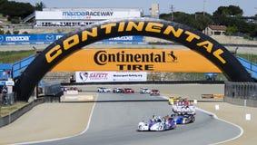 Mazda Raceway Prototype Race Royalty Free Stock Photography