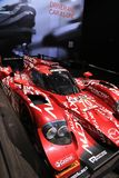 Mazda racing prototype car Stock Photos