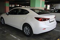 Mazda restyling  white Stock Image