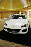 Mazda RX-8 coupe on display Royalty Free Stock Images