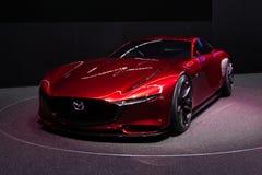Mazda RX-Vison begrepp Arkivfoto