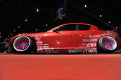 Mazda samochód przy 3rd Bangkok międzynarodowym autosalon 2015 na Czerwu 27, 2015 w Bangkok, Tajlandia Fotografia Royalty Free