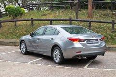 Mazda 6 Schoon Diesel 2013 Model Stock Foto