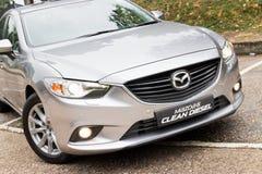 Mazda 6 Schoon Diesel 2013 Model Stock Afbeelding