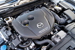 Mazda6 SKYACTIV-D 2015 Engine royalty free stock photos