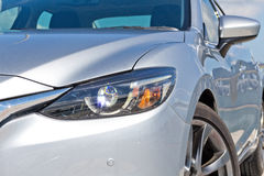 Mazda6 SKYACTIV-D 2015 Head Light Stock Photo