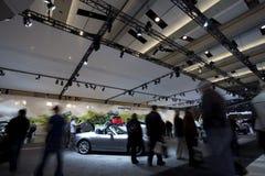 Mazda stellen bei Autoshow 2010 aus Stockbild