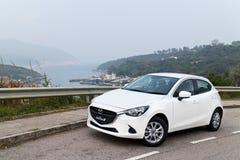 Mazda2 2015 Test Drive Royalty Free Stock Photo
