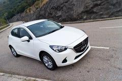 Mazda2 2015 Test Drive Stock Image