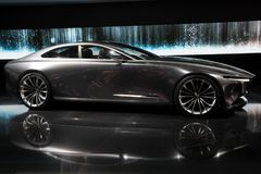 Mazda Vision Coupe concept car Royalty Free Stock Images