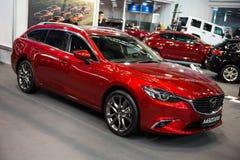 Mazda 6 Wagen Stock Afbeelding