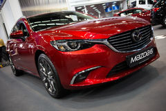 Mazda 6 Wagen stock foto's
