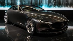 Mazda wzroku Coupe pojęcia samochód Obrazy Stock