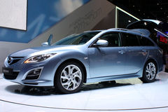 Mazda6 Wagon Sport at Motor Show 2010, Geneva Royalty Free Stock Images