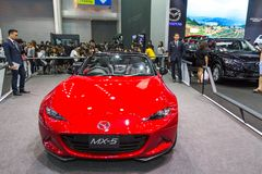 Mazdacar на экспо 2016 мотора Таиланда международном Стоковые Изображения