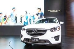 Mazdacar bij de Internationale Motor Expo 2016 van Thailand Stock Foto's