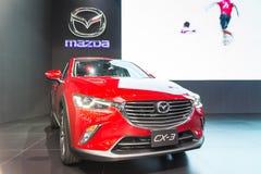 Mazdacar bij de Internationale Motor Expo 2016 van Thailand Stock Afbeelding