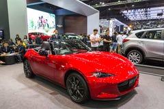 Mazdacar bij de Internationale Motor Expo 2016 van Thailand Stock Fotografie