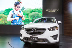 Mazdacar bij de Internationale Motor Expo 2016 van Thailand Royalty-vrije Stock Fotografie