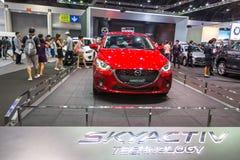 Mazdacar przy Tajlandia zawody międzynarodowi silnika expo 2016 Zdjęcia Royalty Free