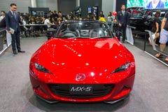 Mazdacar przy Tajlandia zawody międzynarodowi silnika expo 2016 Obrazy Royalty Free
