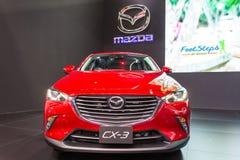 Mazdacar przy Tajlandia zawody międzynarodowi silnika expo 2016 Obraz Royalty Free