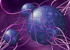 Maze. The internet, a labyrinth, maze Stock Photo