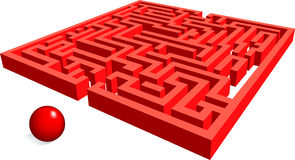 Maze Royalty Free Stock Image
