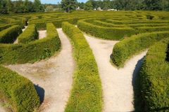 Free Maze Royalty Free Stock Images - 15848949