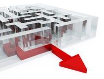 Maze Stock Photography