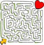 Maze Royalty Free Stock Photos
