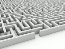 Maze stock illustration